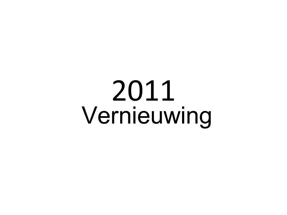 2011 Vernieuwing