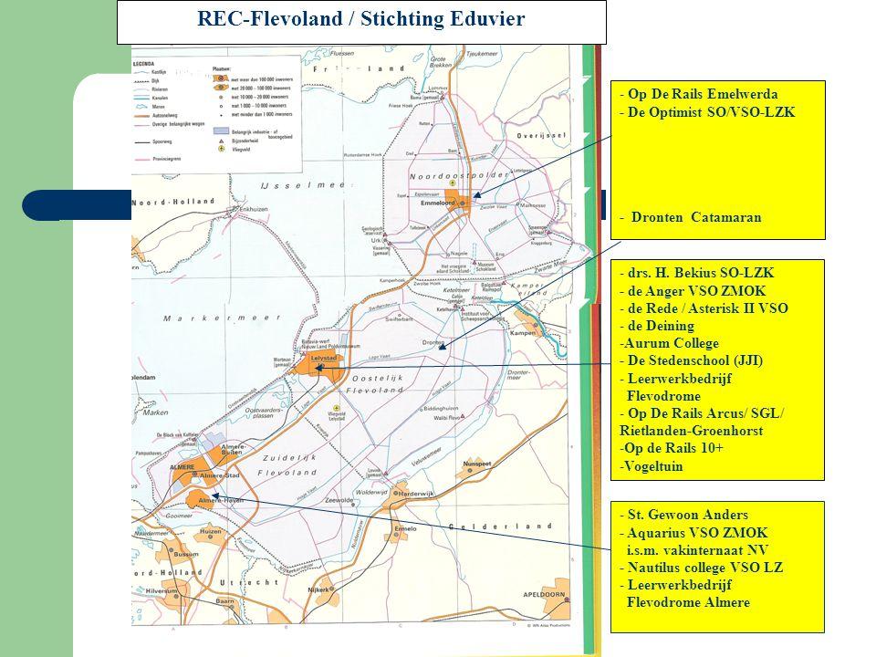 REC-Flevoland / Stichting Eduvier - Op De Rails Emelwerda - De Optimist SO/VSO-LZK - Dronten Catamaran - drs. H. Bekius SO-LZK - de Anger VSO ZMOK - d