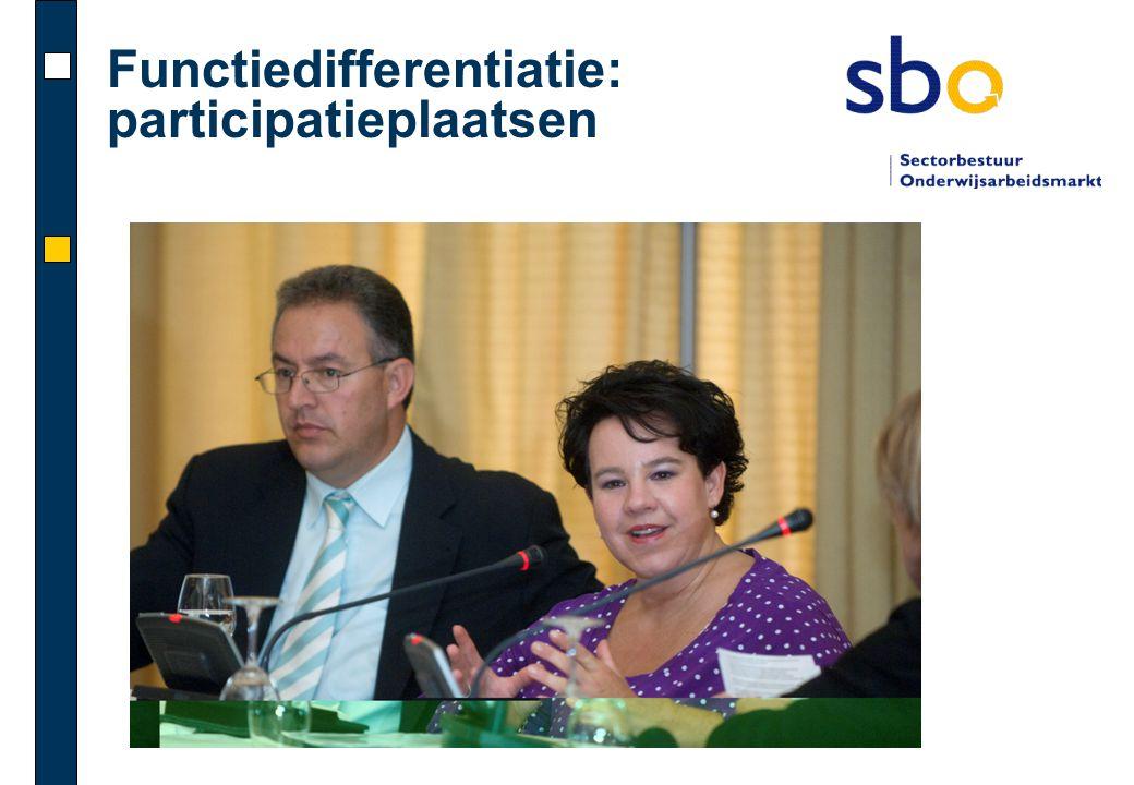 Functiedifferentiatie: participatieplaatsen