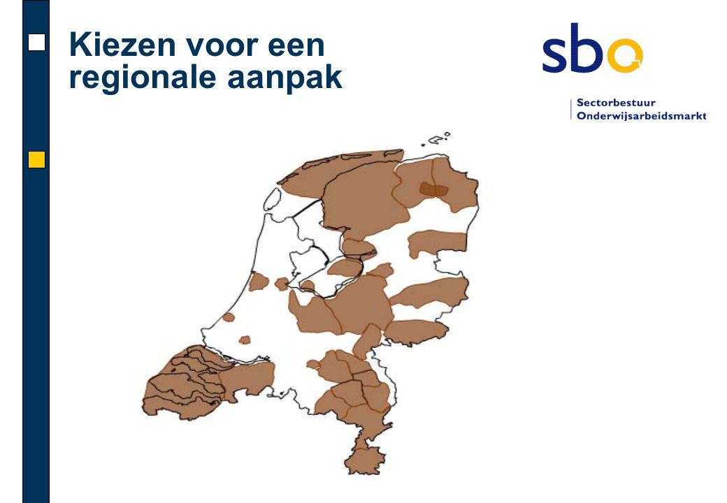 Kiezen voor een regionale aanpak