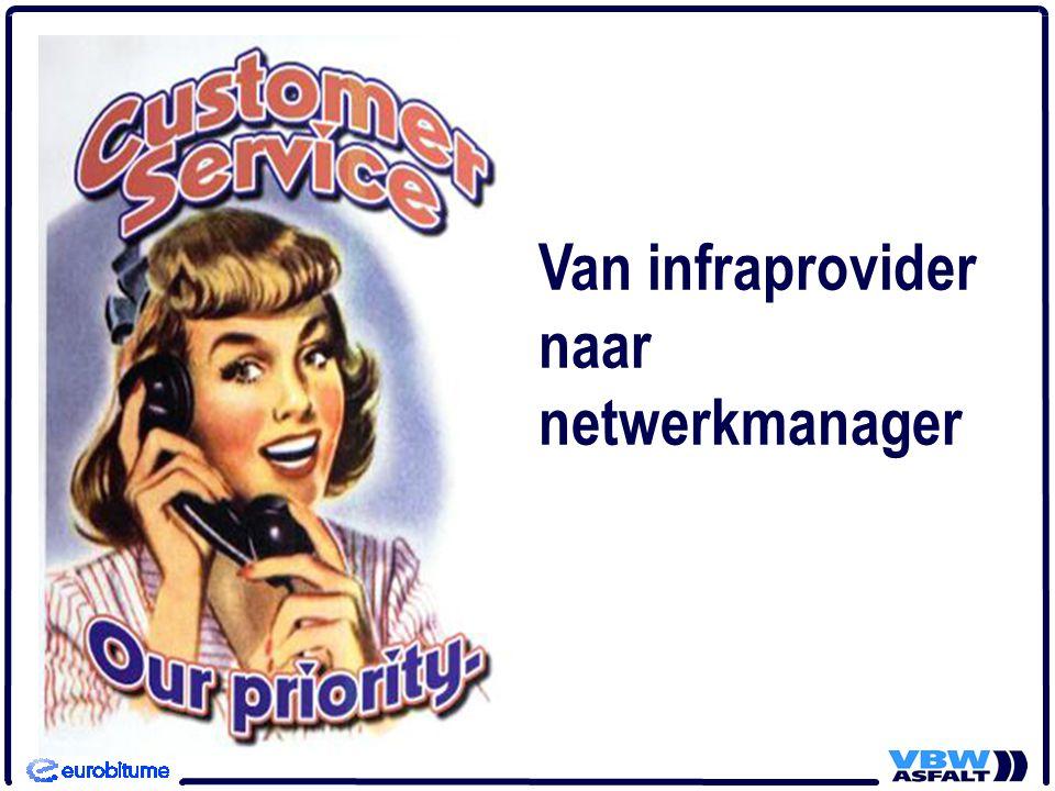 Van infraprovider naar netwerkmanager