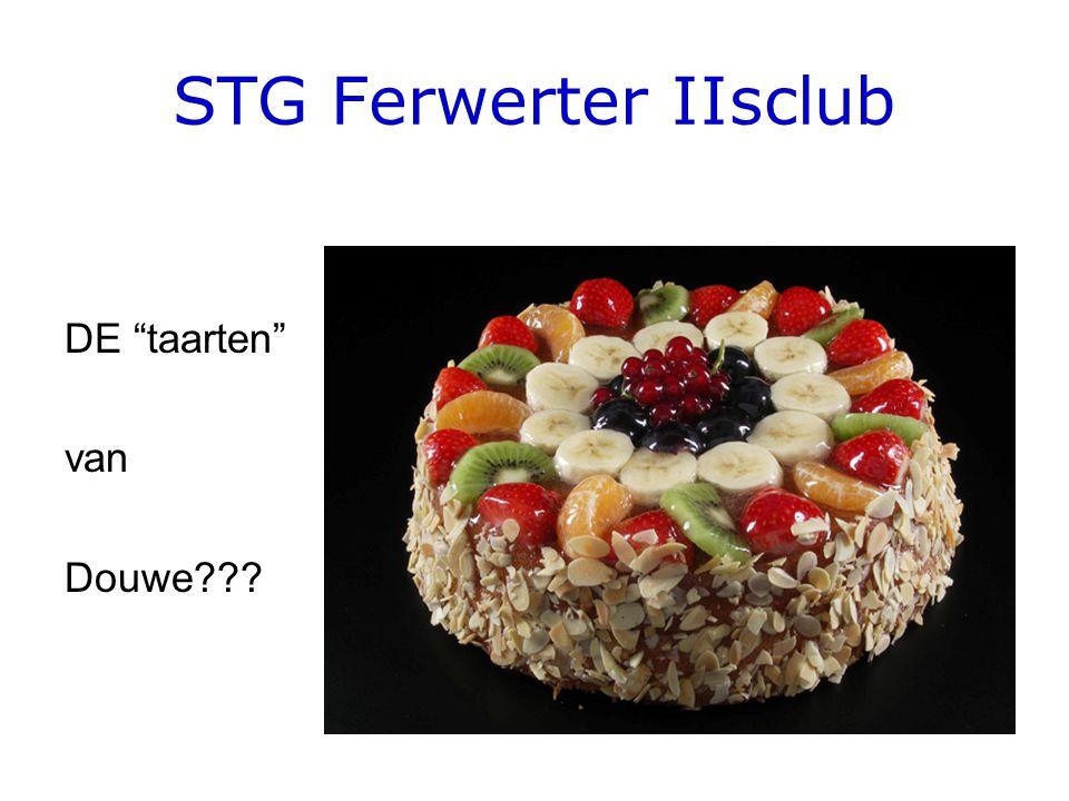 STG Ferwerter IIsclub DE taarten van Douwe