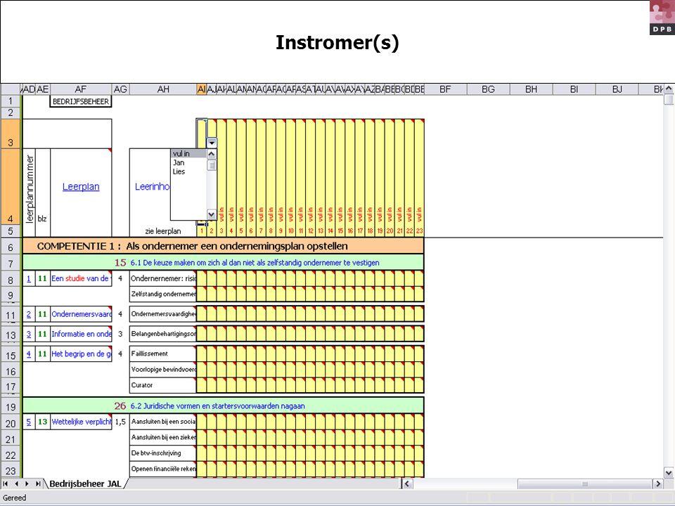 Instromer(s)