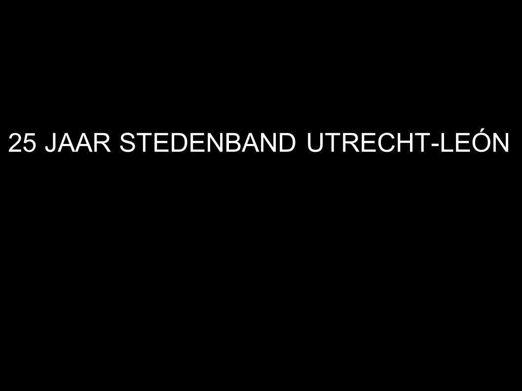 25 JAAR STEDENBAND UTRECHT-LEÓN