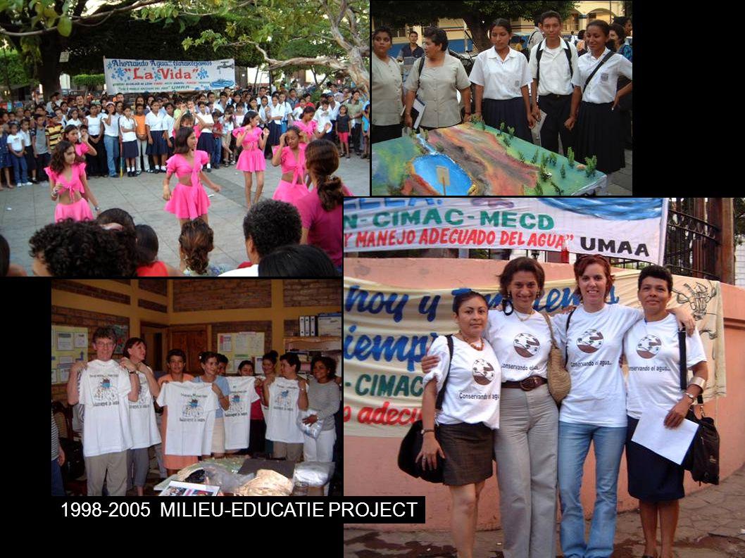 1998-2005MILIEU-EDUCATIE PROJECT