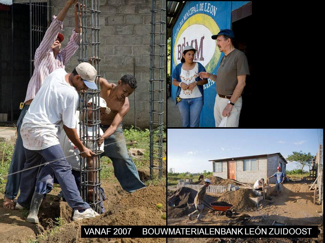 VANAF 2007BOUWMATERIALENBANK LEÓN ZUIDOOST
