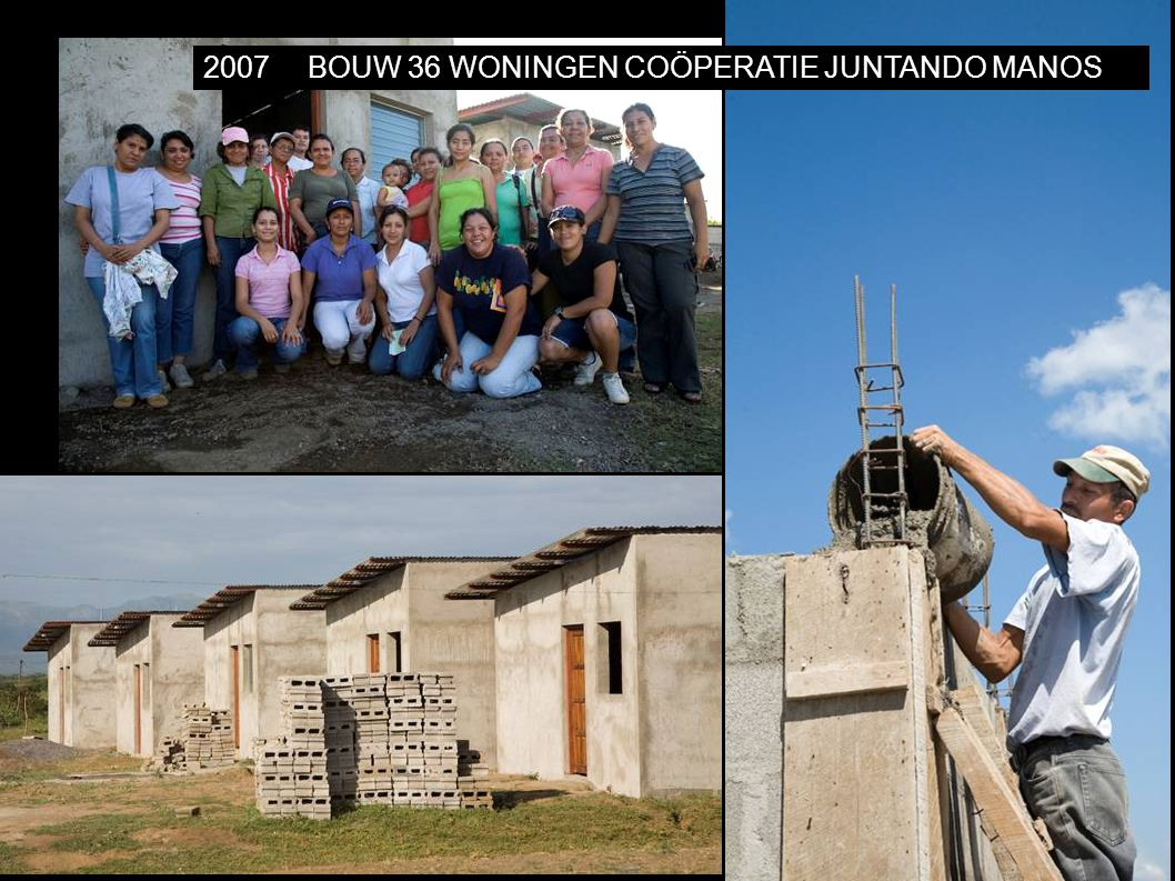 2007BOUW 36 WONINGEN COÖPERATIE JUNTANDO MANOS
