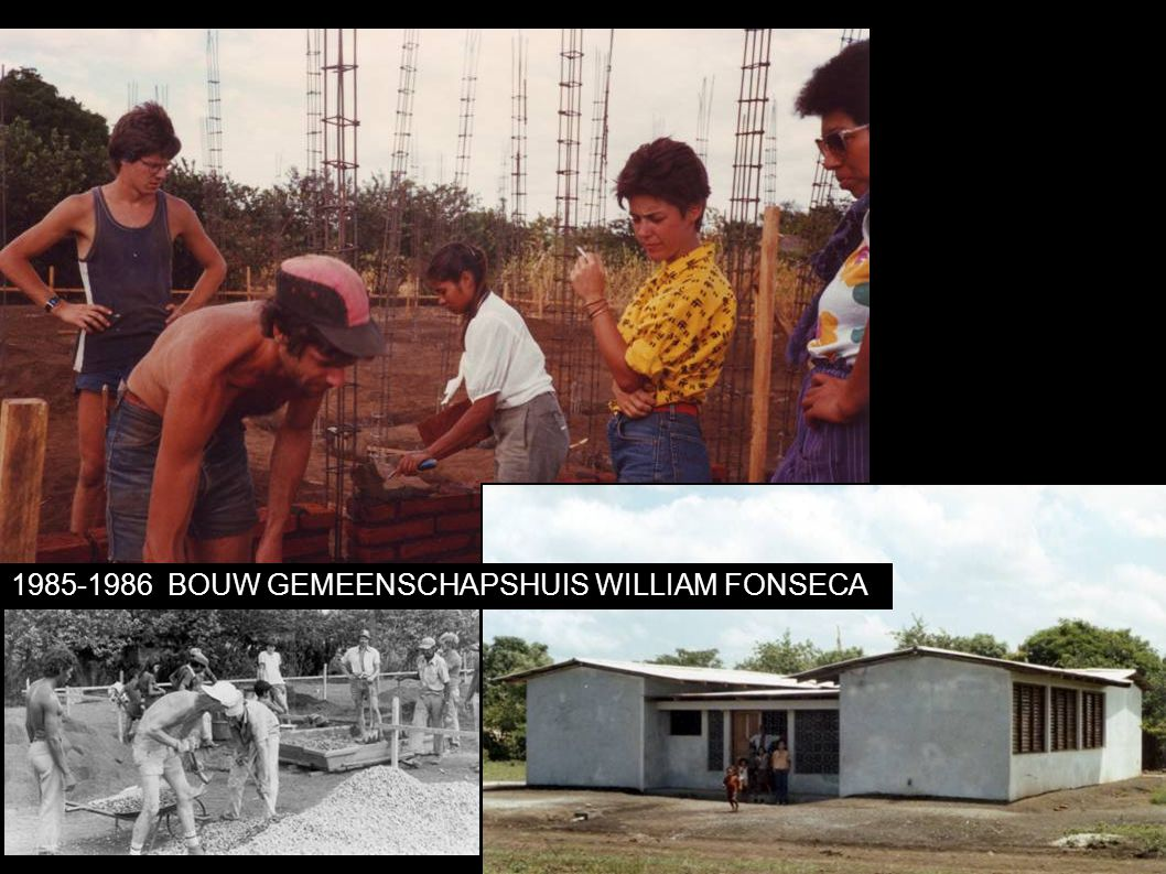 1985-1986BOUW GEMEENSCHAPSHUIS WILLIAM FONSECA