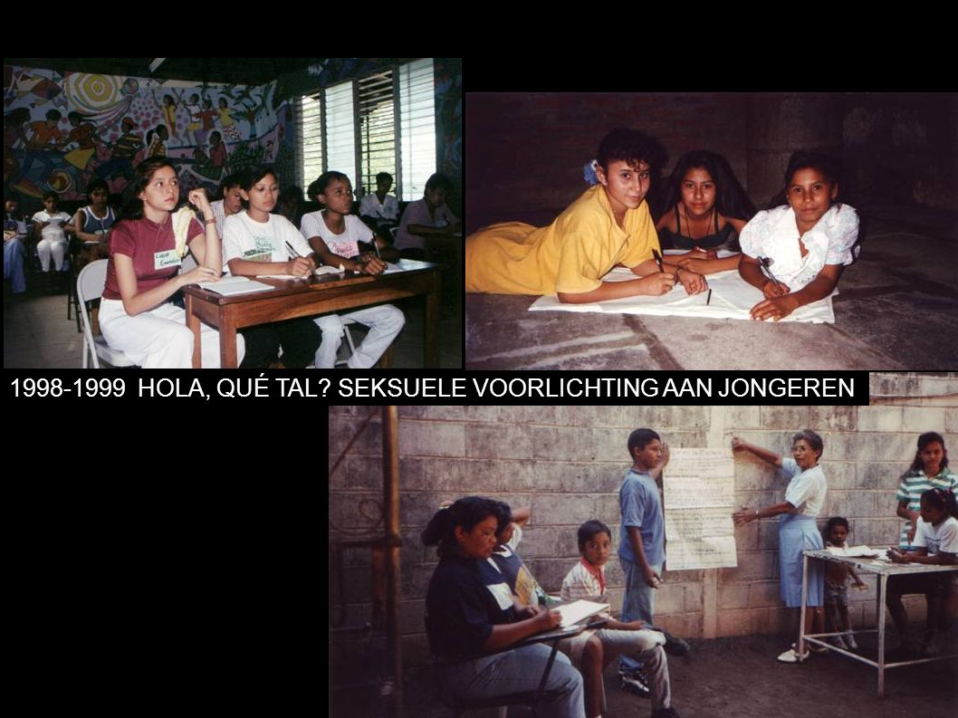 1998-1999HOLA, QUÉ TAL SEKSUELE VOORLICHTING AAN JONGEREN