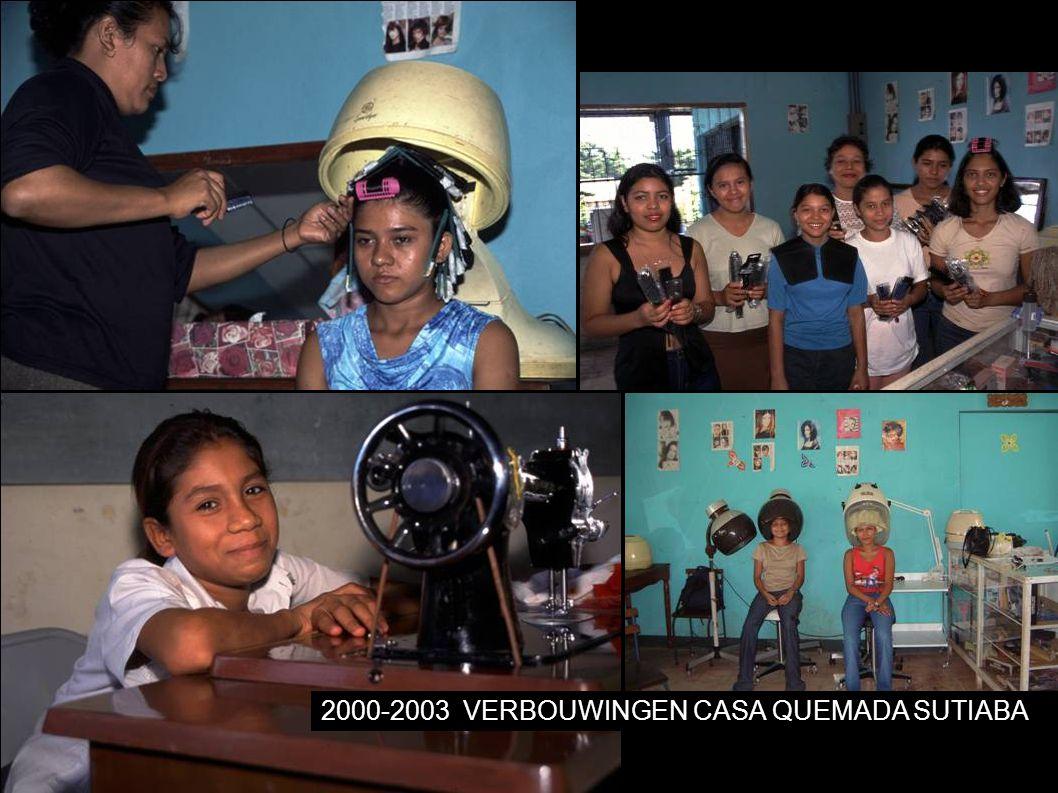 2000-2003VERBOUWINGEN CASA QUEMADA SUTIABA