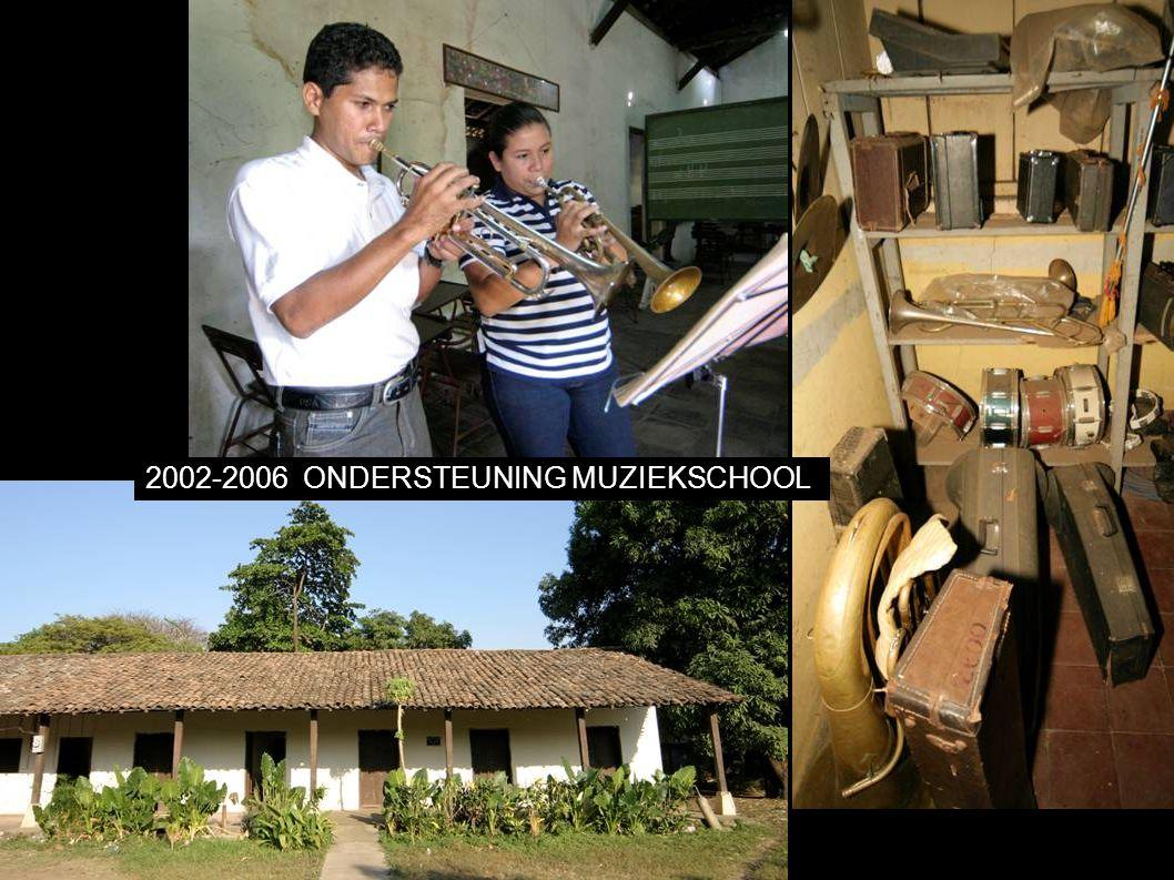 2002-2006ONDERSTEUNING MUZIEKSCHOOL