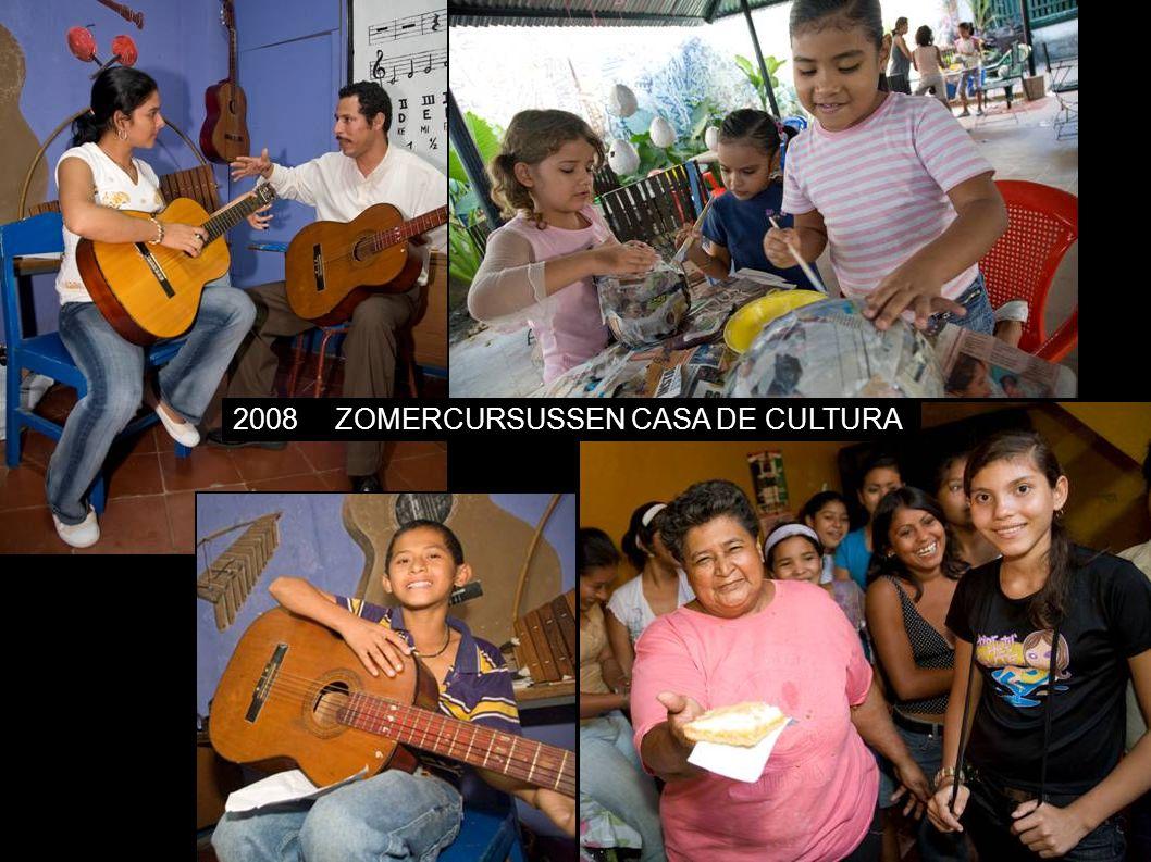 2008ZOMERCURSUSSEN CASA DE CULTURA