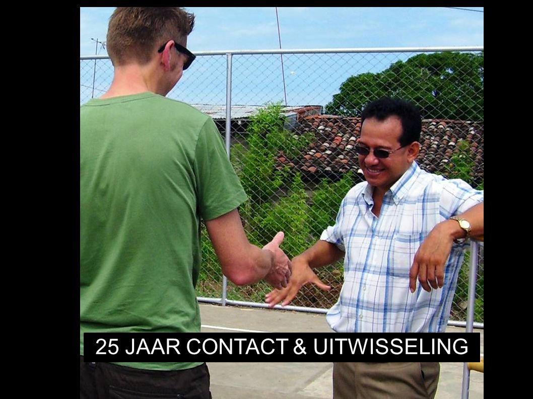 25 JAAR CONTACT & UITWISSELING