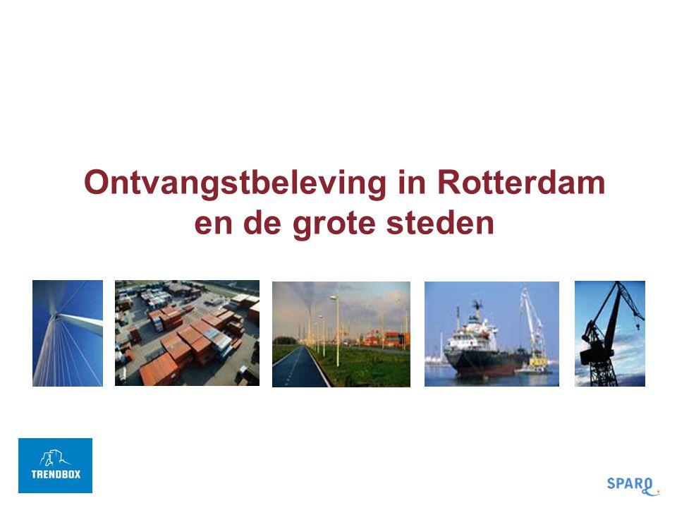 Ontvangstbeleving in Rotterdam en de grote steden