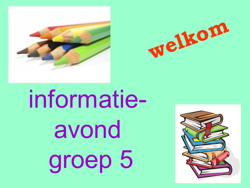 informatie- avond groep 5 welkom