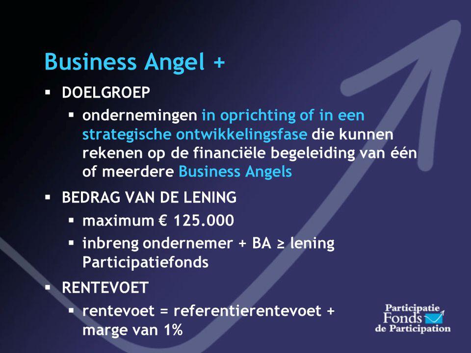 Startersfonds  Obligatielening van € 65.000.000  Om de productie te verhogen in 2004 tot 2008 (13 miljoen per jaar)  Was beschikbaar voor het grote