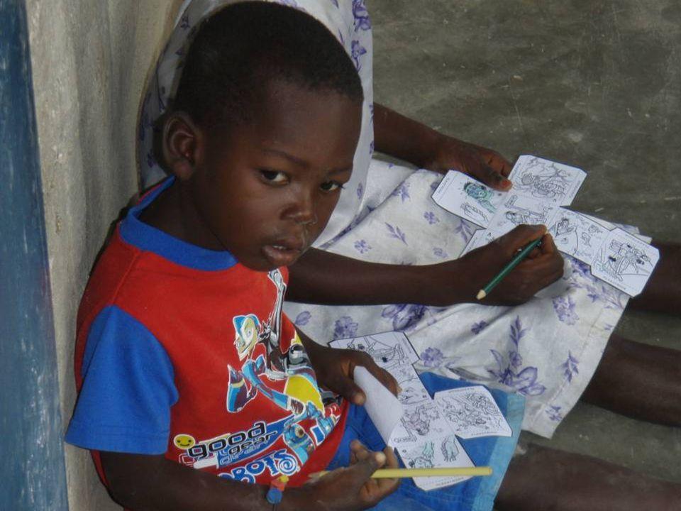 Haïti Sinds 2007 2 projecten HA108 Boulanger klaslokalen 21+v