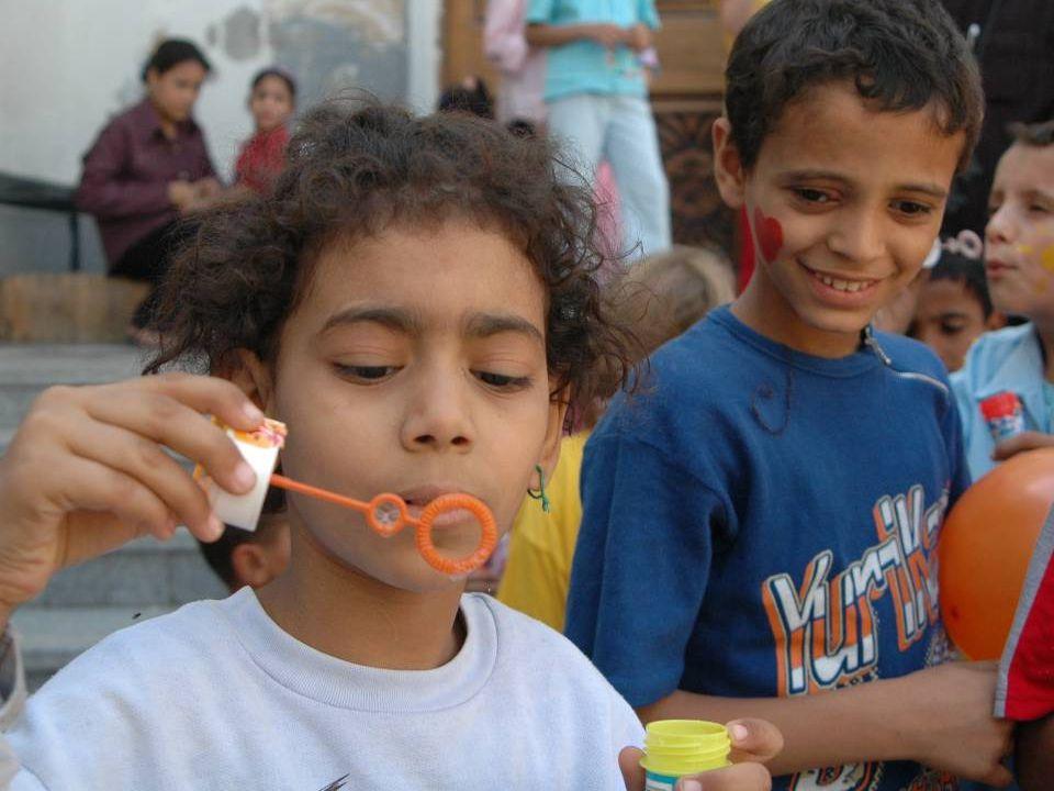 Egypte Sinds 1990 17 projecten EG108 Beni Suef weeshuis 16-23 jr