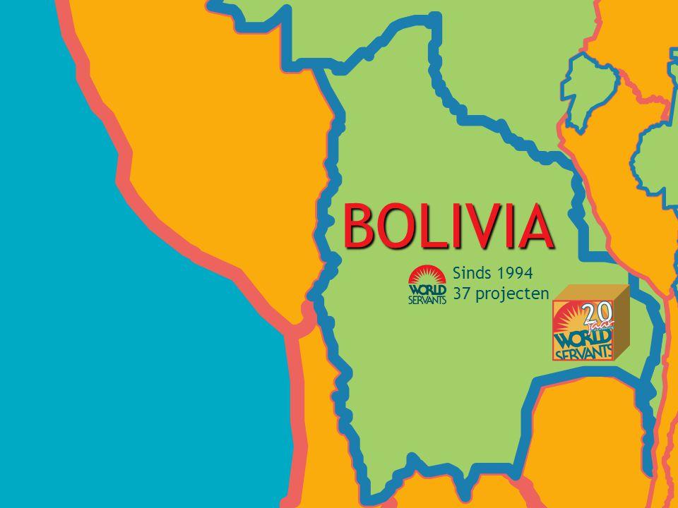 BOLIVIA Sinds 1994 37 projecten