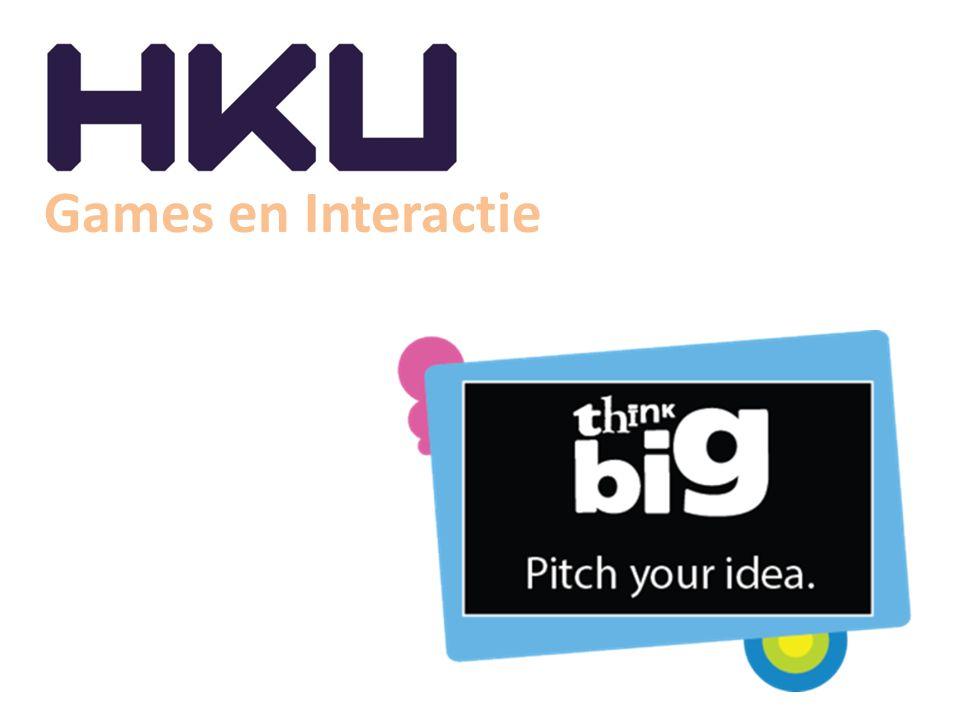 Games en Interactie Pitch projecten jaar drie Pitchproject Business Bedoeld voor studenten die een eigen bedrijf willen beginnen en een succesvol (high impact) interactief product, zoals een game, op de markt willen brengen.