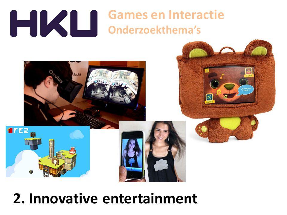 Games en Interactie Studio lab - Interactive narrative