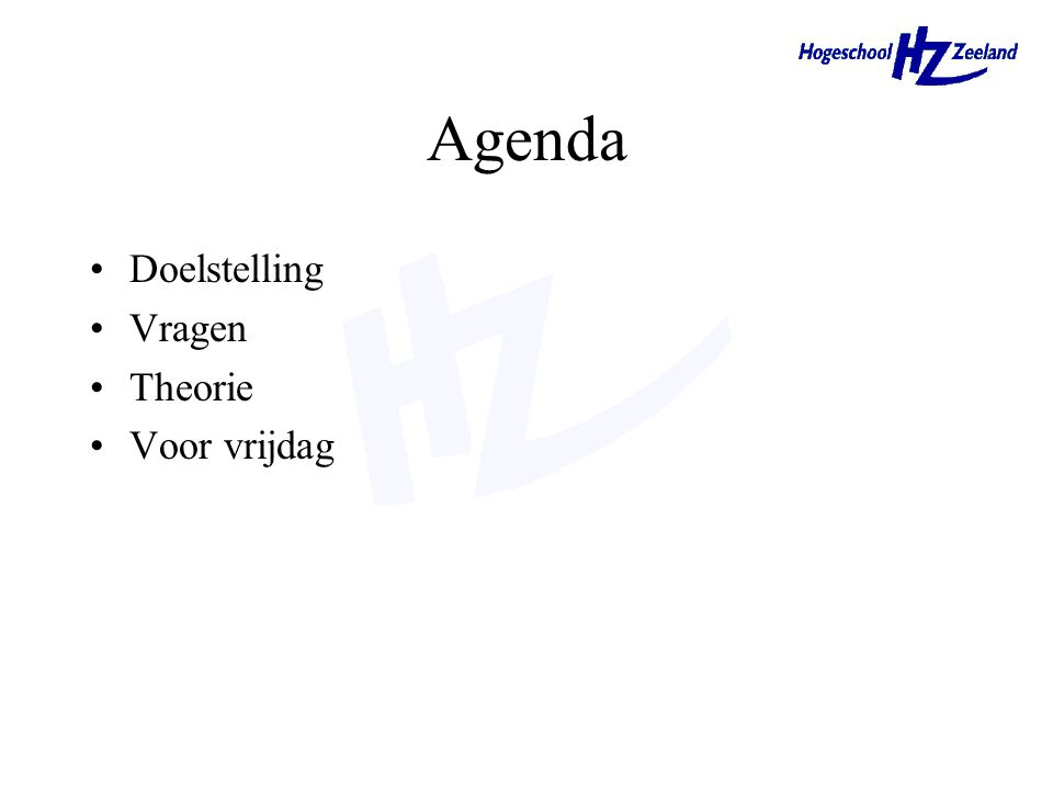Marketingplanning en -strategie § 2.4 en §2.5 MK01 HEO-CE1