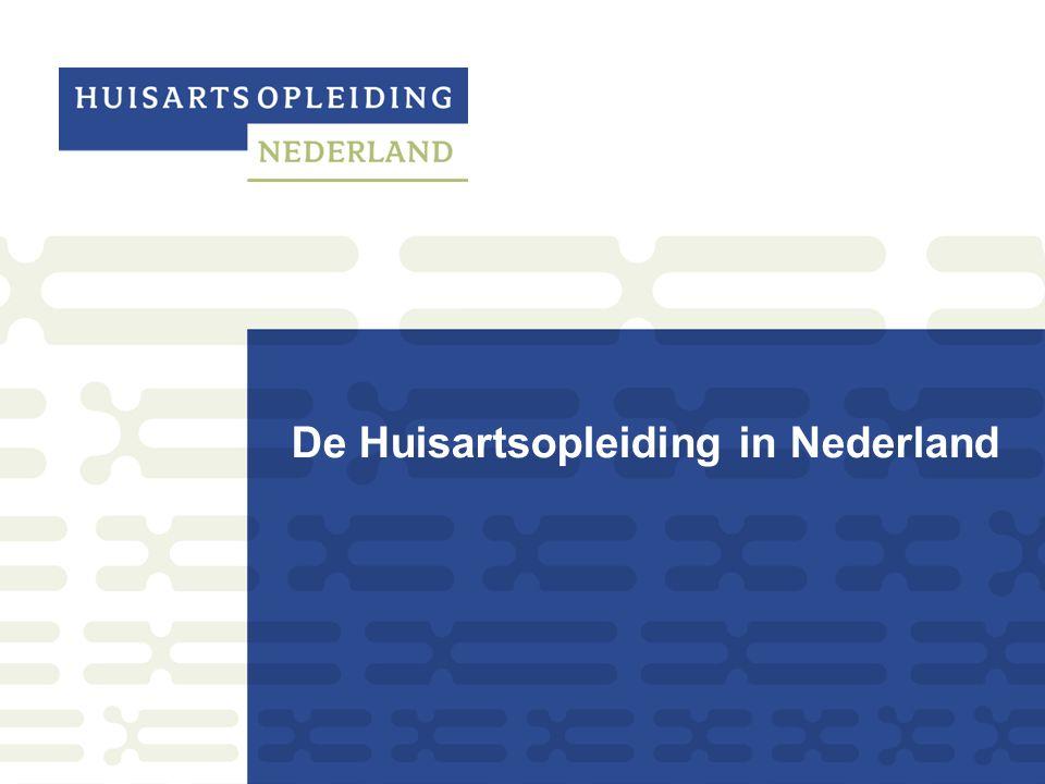 De Huisartsopleiding in Nederland