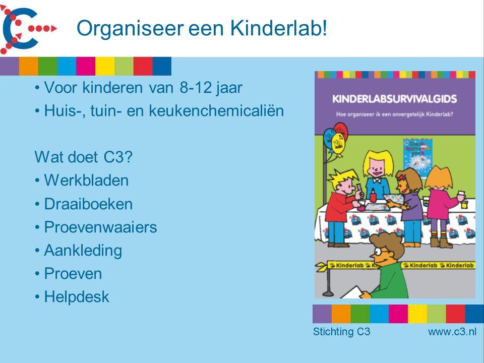 Organiseer een Kinderlab.