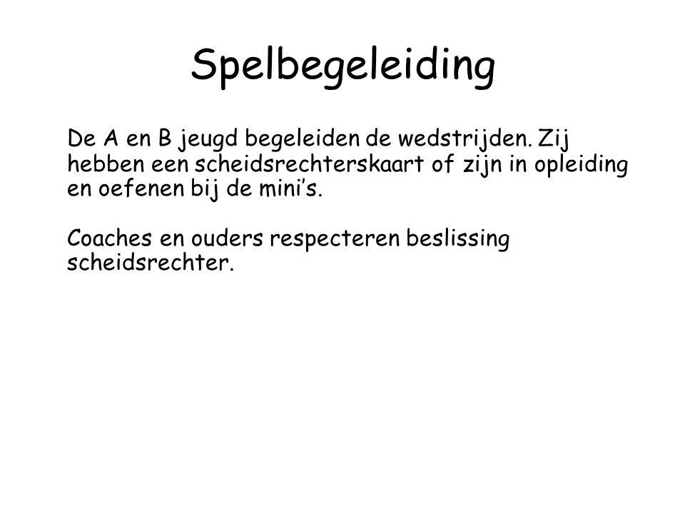 Training •Tijdig afmelden voor de training bij de minicommissie op minicommissie@hcdenbosch.nl minicommissie@hcdenbosch.nl •Training een keer per week