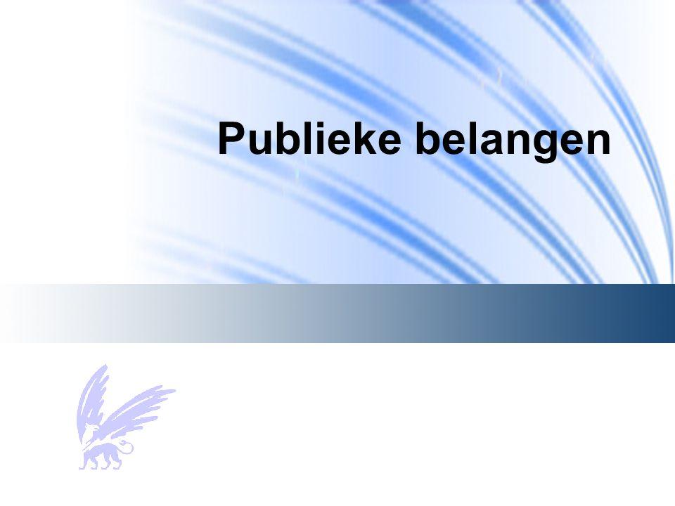 Publieke belangen