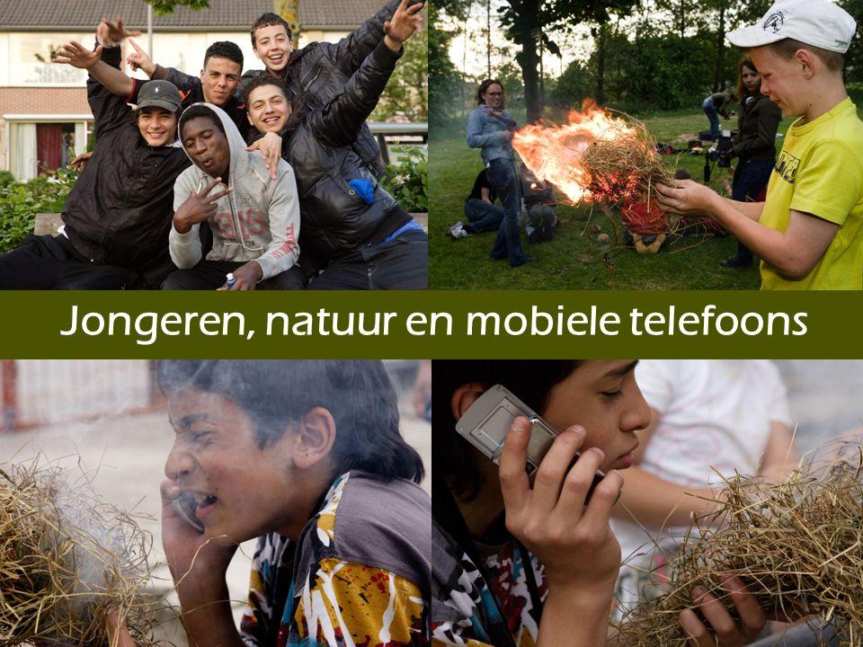 Sandra van der Wielen sandra@in2nature.eu Stichting in2nature - www.in2nature.eu Most Primitive Scouting Experience - www.mpse.nl Jongeren, natuur en mobiele telefoons