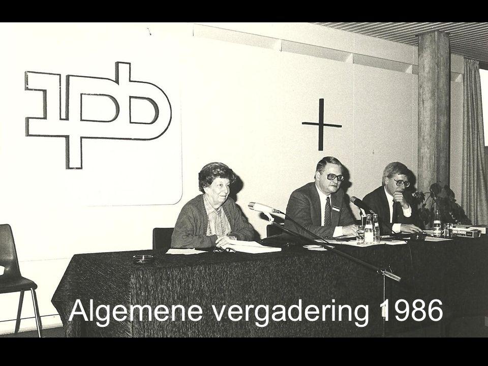Algemene vergadering 1986