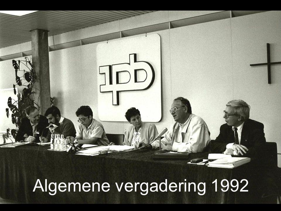 Algemene vergadering 1992