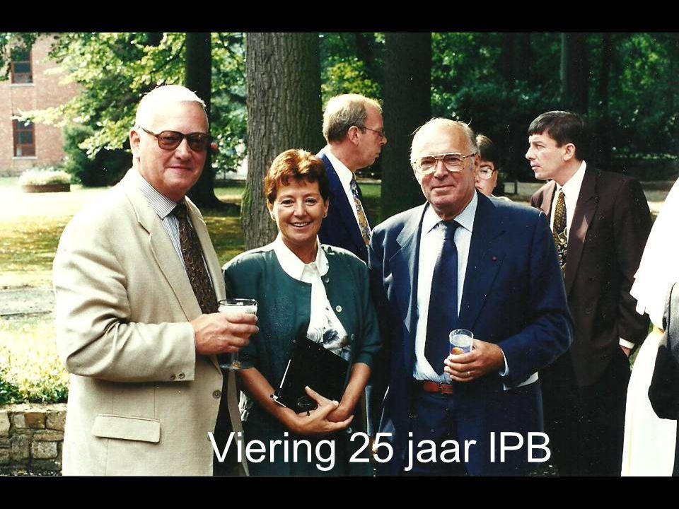 Viering 25 jaar IPB
