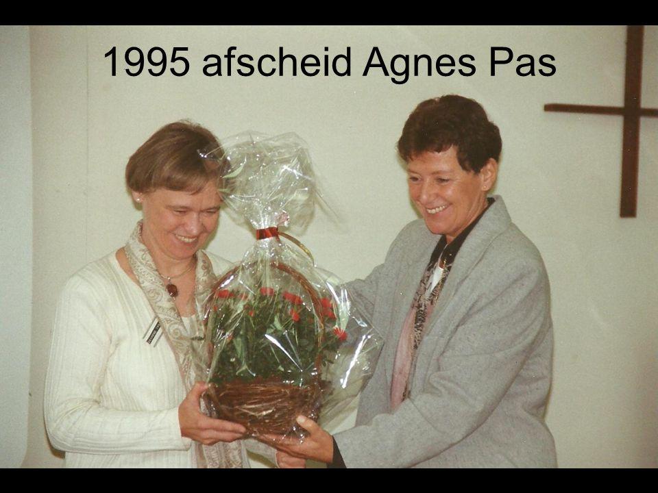 1995 afscheid Agnes Pas