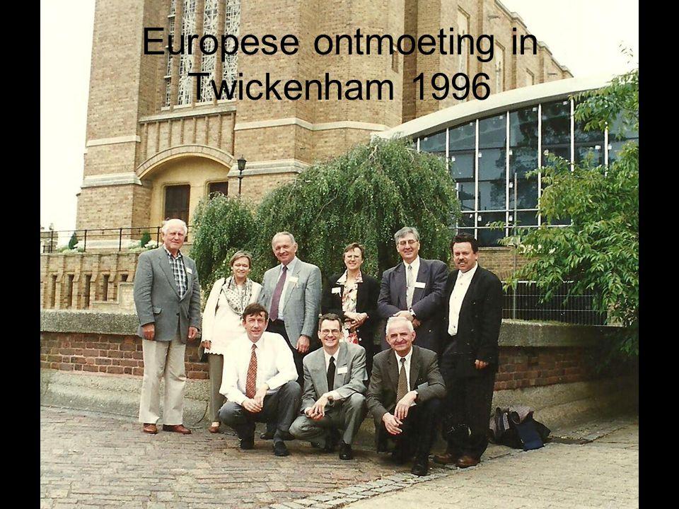 Europese ontmoeting in Twickenham 1996