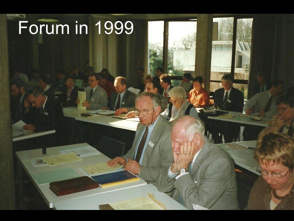 Forum in 1999