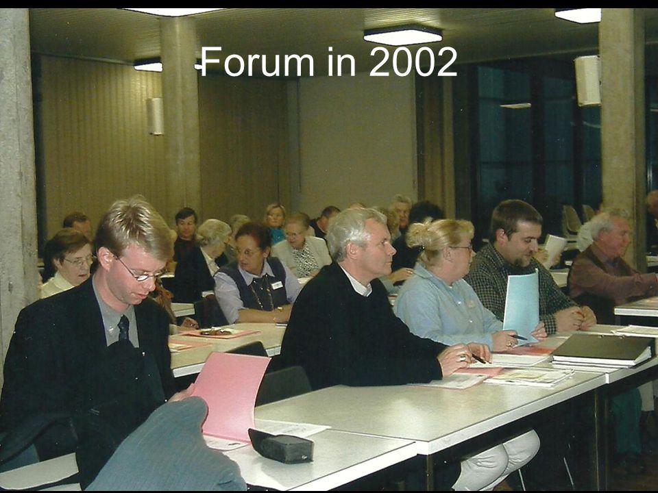 Forum in 2002