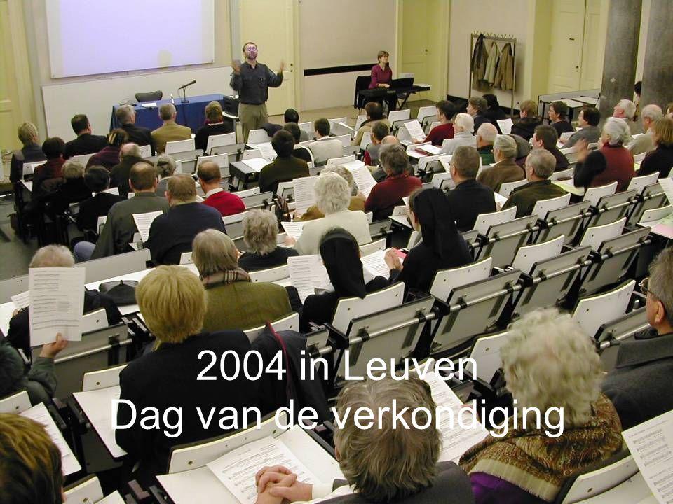 2004 in Leuven Dag van de verkondiging