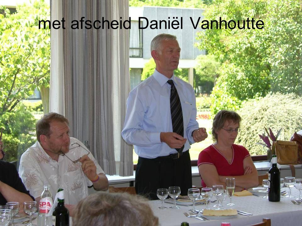 met afscheid Daniël Vanhoutte