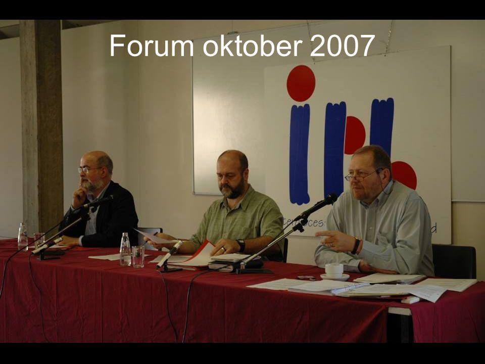Forum oktober 2007