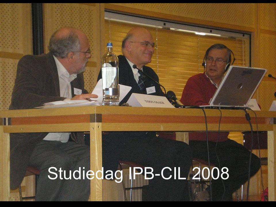 Studiedag IPB-CIL 2008