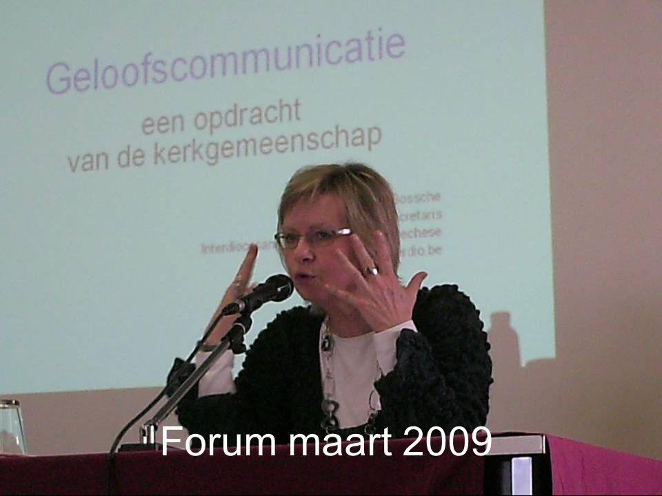 Forum maart 2009