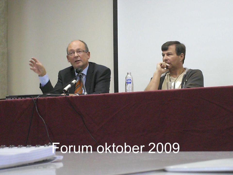 Forum oktober 2009