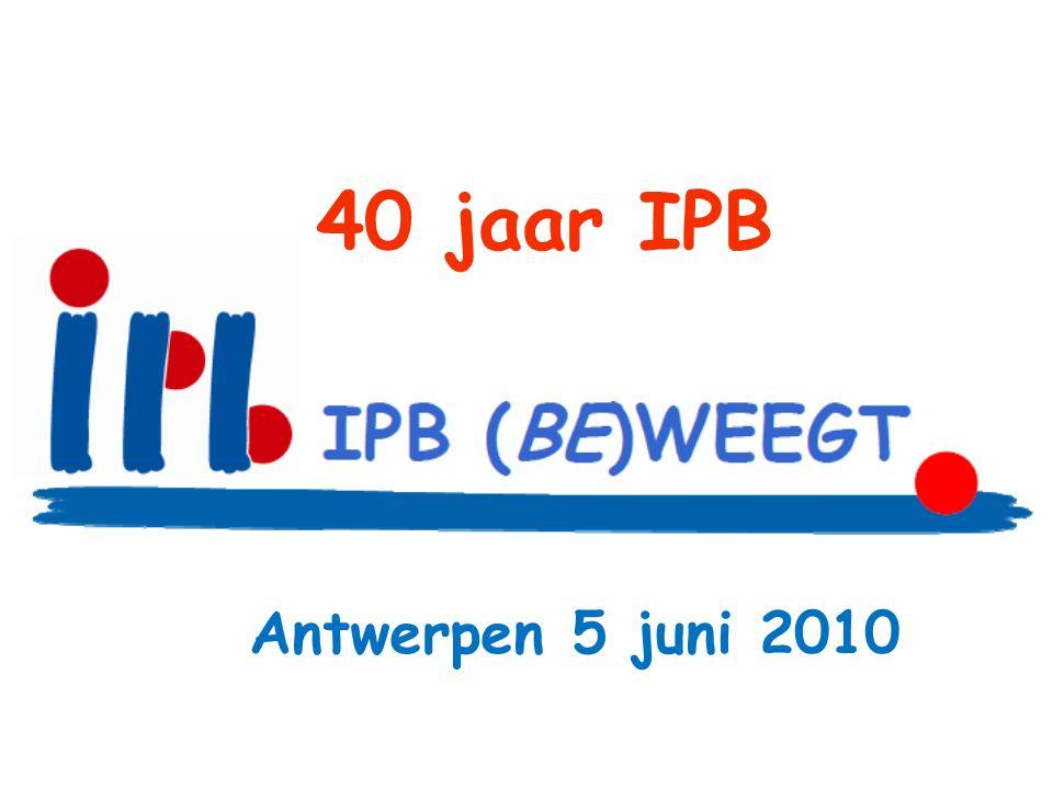 40 jaar IPB Antwerpen 5 juni 2010