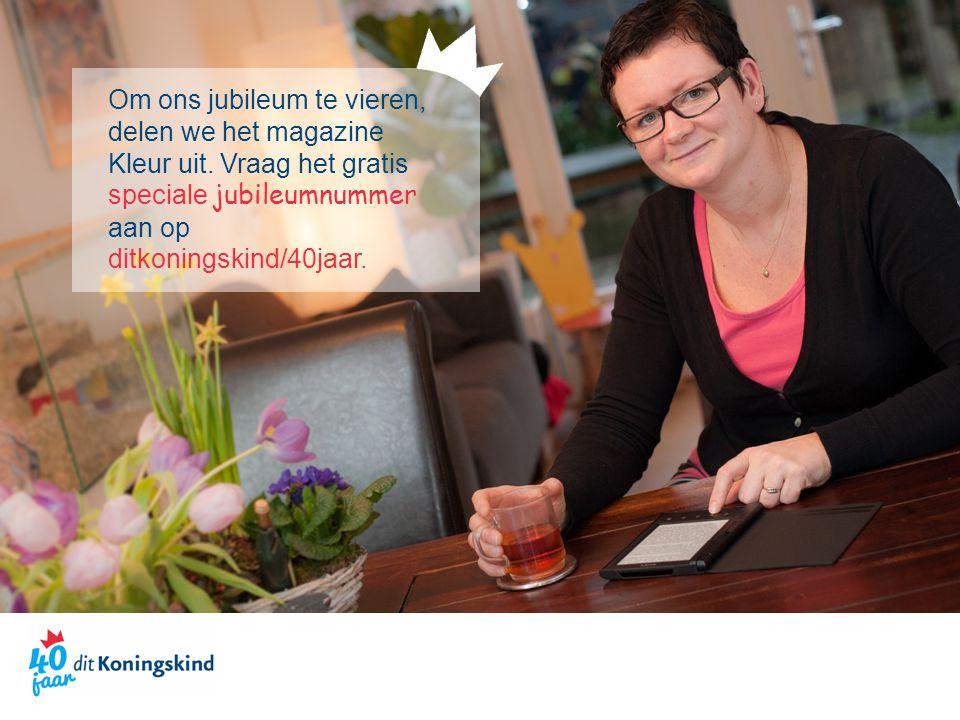En onze ambassadeurs vieren met ons mee: tijdens het jubileumjaar bloggen ze er op onze website in geuren en kleuren op los.