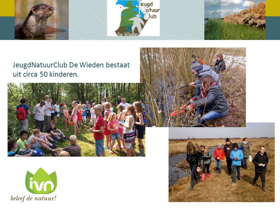 JeugdNatuurClub De Wieden bestaat uit circa 50 kinderen.
