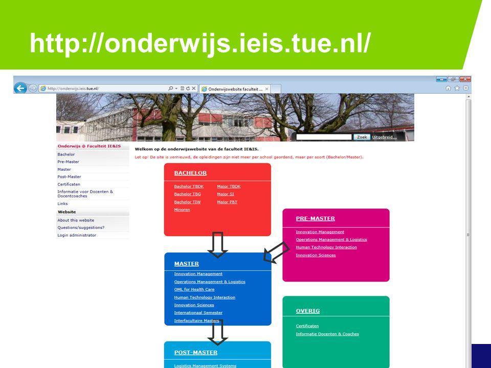 http://onderwijs.ieis.tue.nl/