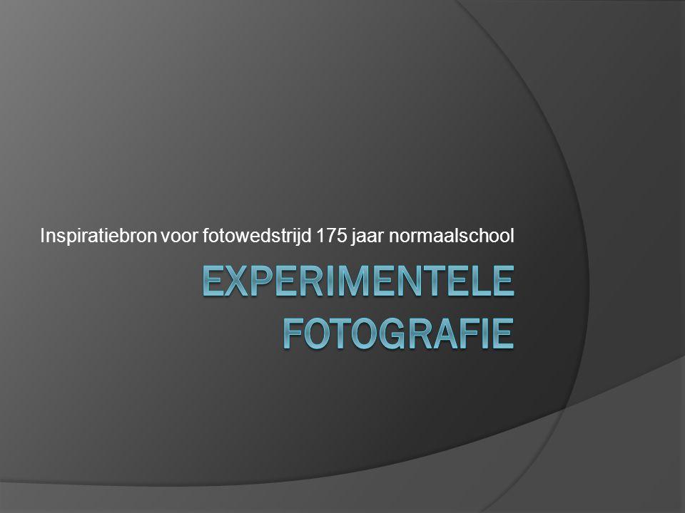 Inspiratiebron voor fotowedstrijd 175 jaar normaalschool