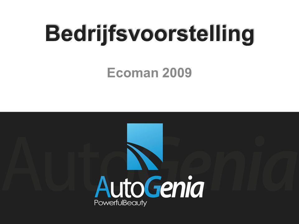 Bedrijfsvoorstelling Ecoman 2009